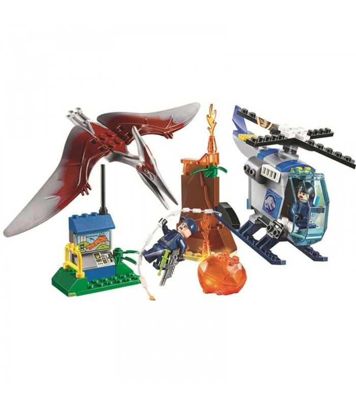 New Jurassic World bloques tipo lego