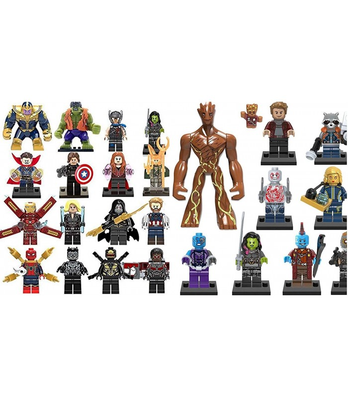 marvel 26 minifigure set