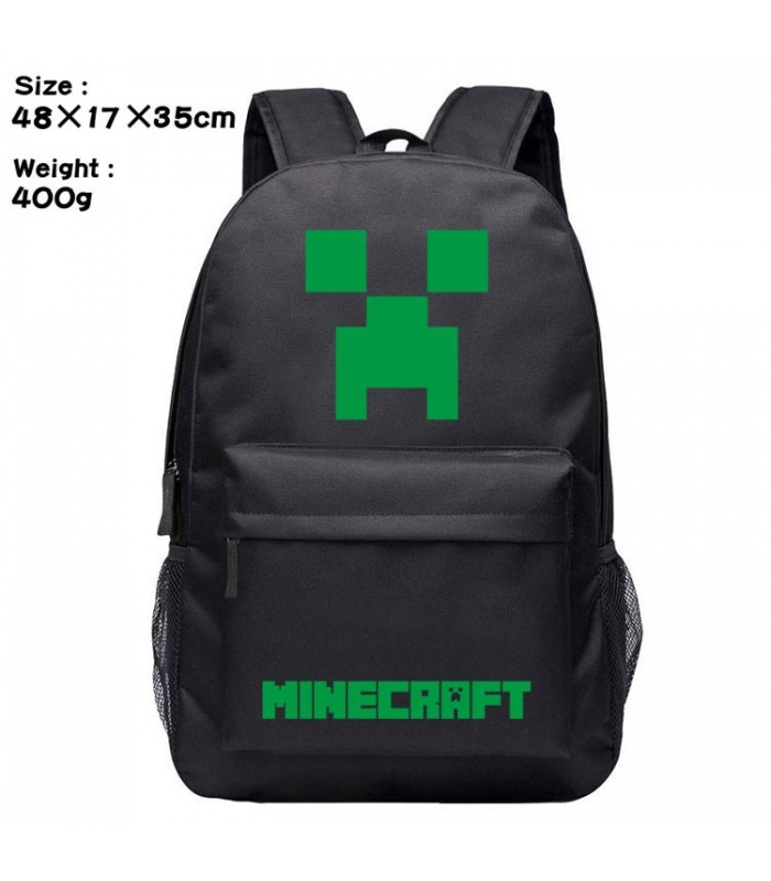 mochila Minecraft Game Backpack Bag