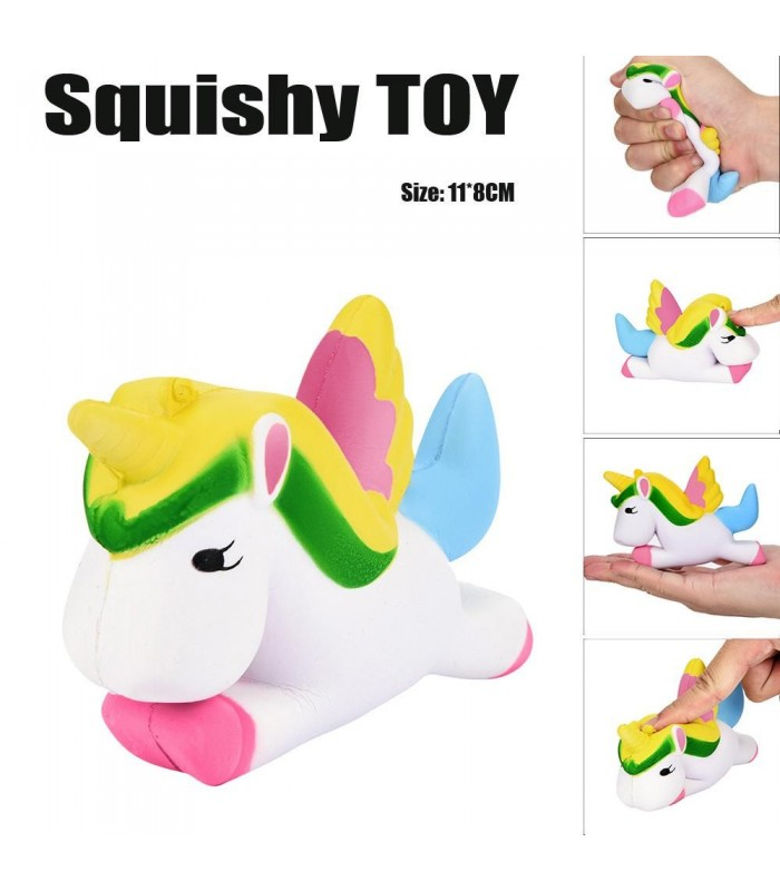 Unicornio de kawaii blandita squishy toy
