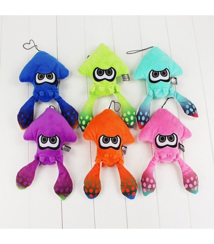 6 colores 25 cm splatoon Inklings SQUID Juguetes calamar