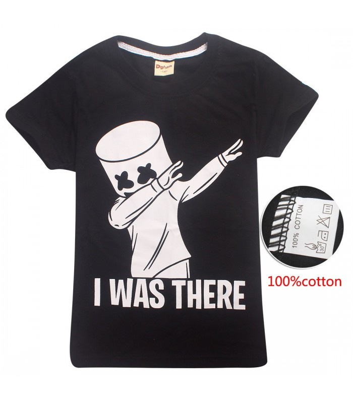 MARSHMELLO CAMISETA PARA NIÑOS I WAS THERE
