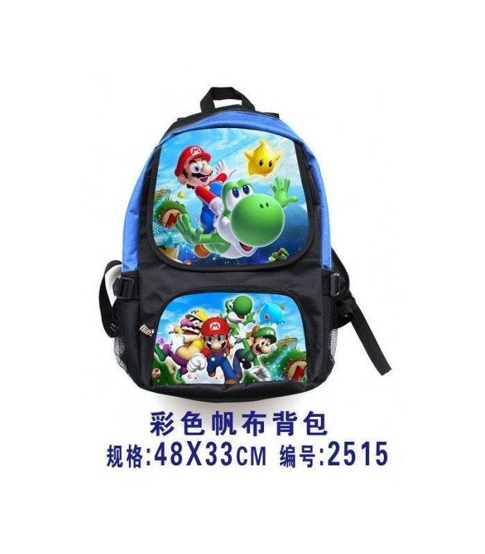 mochila Super Mario Bros Anime Bagmochila Super Mario Bros Anime Bag